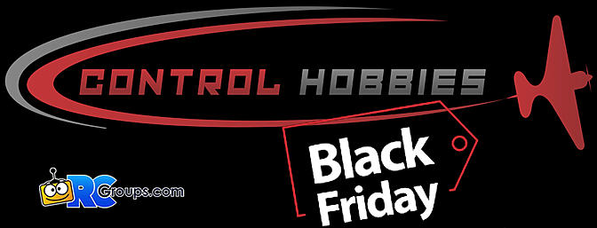 Black Friday Sales at Control Hobbies