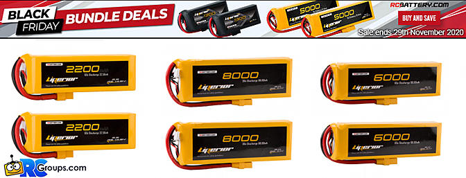 RCBattery.com Black Friday Bundle Deals