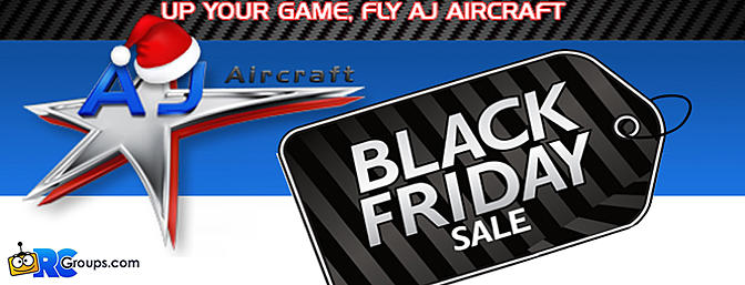 AJ Aircraft Black Friday Sale!