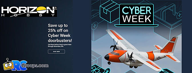 Horizon Hobby Cyber Week Deals
