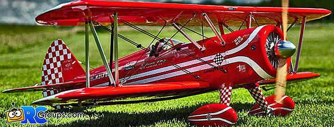 NEW! Kingcraft Limited Edition (ARF) Super Stearman 1400mm