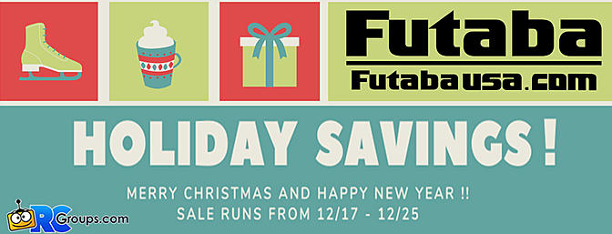 Futaba - Holiday Savings!