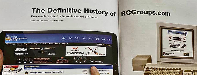Transmitter Mag - Featuring the History of RCGroups!