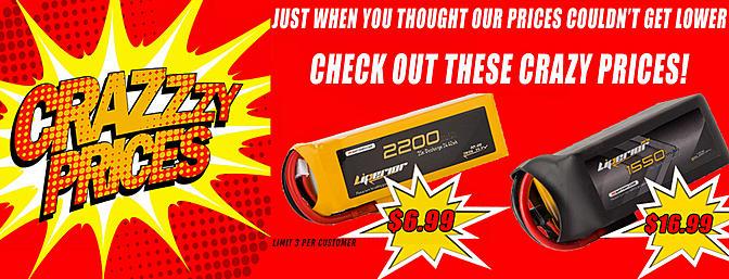 RCBattery.com Battery Sale