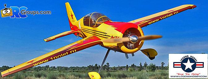 Seagull YAK 54 35-40cc