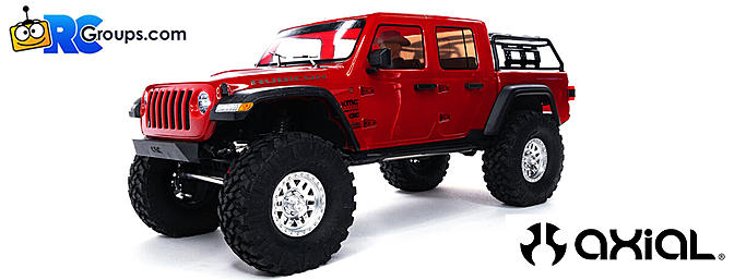 Axial - 1/10 SCX10 III Jeep JT Gladiator Rock Crawler with Portals RTR