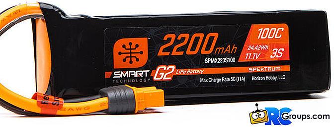 Spektrum - Smart G2 100C LiPos
