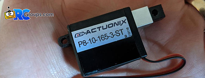 Actuonix - P8 Micro Linear Stepper Actuator
