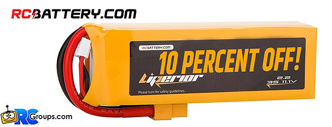 RCBattery Trade Show Deal - 10% Off!