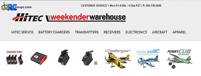 WeekenderWarehouse!