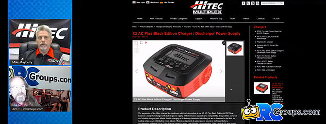Hitec Interview - Charger Basics