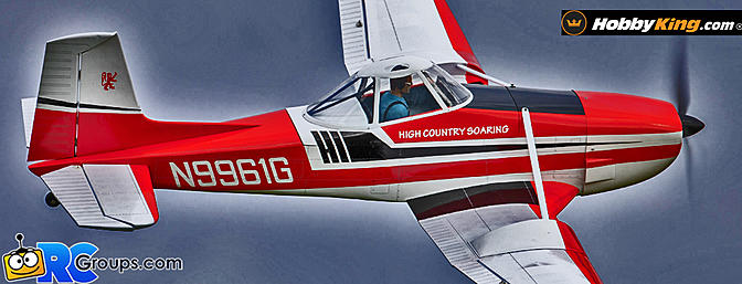 "VQ Models Cessna 188 ""Agwagon"" (ARF)"