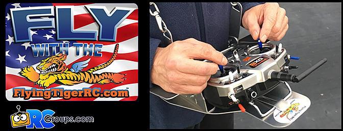 Flying Tiger RC - RC Transmitter Tray