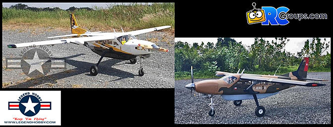 Seagull Models Cessna Grand Caravan EX 85″ Wingspan