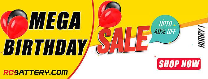 RCBattery.com Birthday Sale!