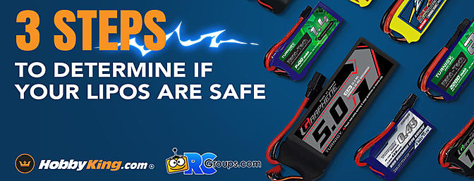 HobbyKing Tips - 3 STEPS TO DETERMINE IF YOUR LIPOS ARE SAFE