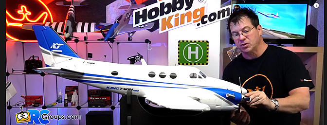 Avios (PNF) KingTwin 1700 Sports Turboprop Airplane (1700mm) - Unboxing and Build