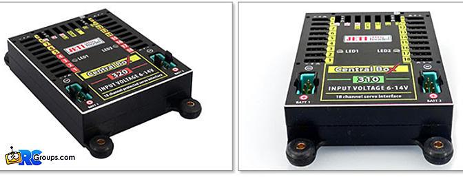 Jeti USA - 18 Channel Jeti Central Box 310 & 320 Power/Signal Distribution Systems