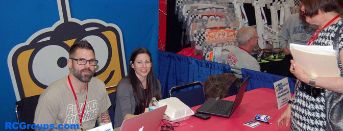 SleepyC and Awagar in the booth at Toledo.