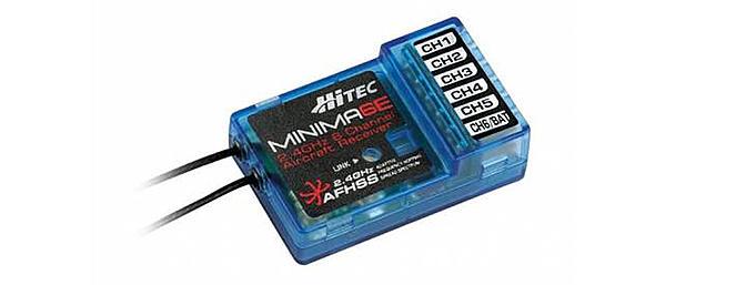 The Hitec Minima6E was a perfect fit.