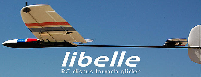 Dream-Flight Libelle - RC Gliders - DLG F3K Hand Launch