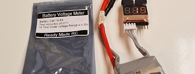 The RMRC Lipo battery alarm and test is simple, small and inexpensive.