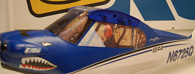Here the white top paper has been removed and our scale Cub windows are revealed!
