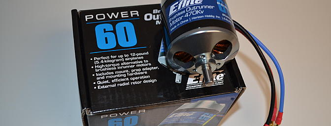 The Power 60 is a great power system for the Carbon Z Cub.