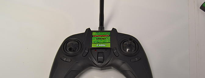 Some video game style controllers drive me crazy but this one pretty much disappeared, all I remember is having fun. No issues here. The 2.4GHz radio system has digital trims, selectable flight modes, auto-flip, and dual rates.
