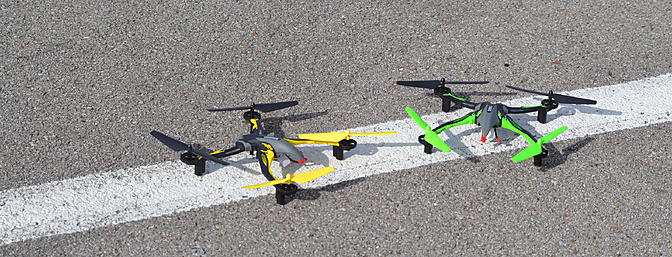 The Ominus has multiple colors so you can fly with your friends.