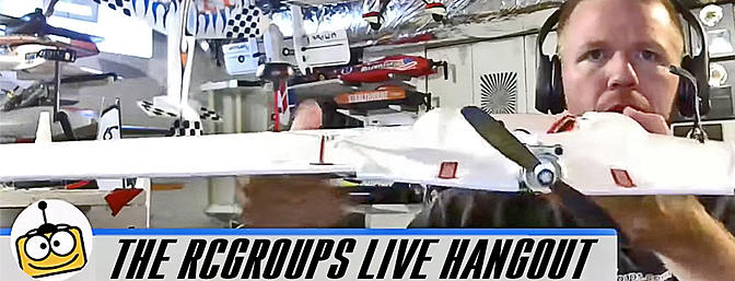 RCGroups Live Broadcast - Mavic Pro, E-flite Convergence, Manta FPV Wing and More