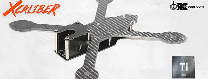 BULLIT Drones - Xcaliber Freestyle Frame
