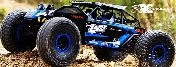 Losi 1/10 Rock Rey 4WD RTR!
