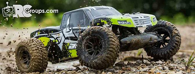 Horizon 1/10 AMP MT 2WD Monster Truck RTR