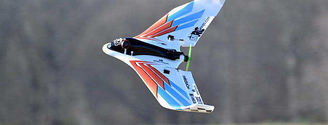 The Blade/Horizon Hobby Theory Type W is a great flying wing as a LOS plane or FPV bird. Tons of fun!