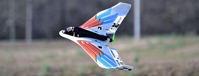 This is a great wing for fun or racing. If you are just jumping into to winged FPV then I suggest you start with the Theory Type W.