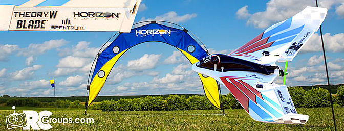 The Blade/Horizon Hobby Theory Type W FPV Race Wing
