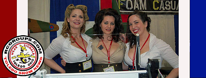 Here are the girls from the Foam Casualties booth. You have to love the 1940s!