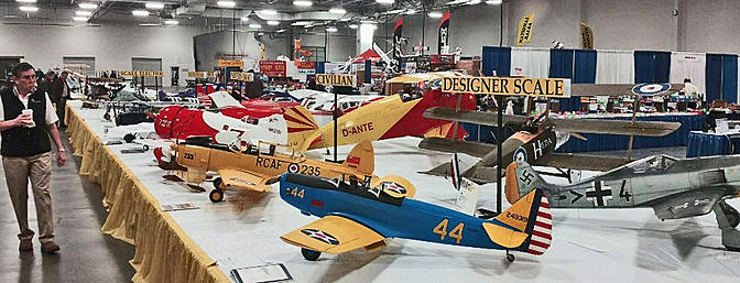 The Toledo RC Trade Show features a large number of great models in it's model competition.