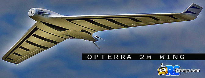 Opterra 2M Wing BNF Basic with AS3X - RCGroups Review