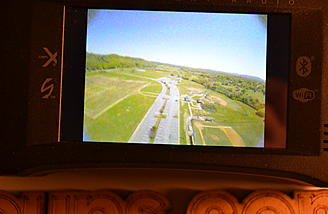 Here is the FPV footage we shot. I got it on the ix12 via an SD card.