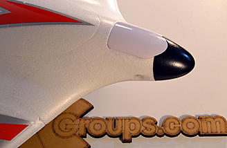 Here is the nose with the stock cone and cover for the HD mount.