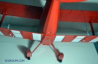 Attach your lower ailerons to your upper ailerons. You may need to adjust the clevis to get everything perfect.