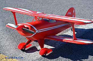 The Pitts looks great in person.