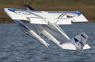 The Turbo Timber's wing is designed with features like drooped wingtips, functional slotted flaps and to accept optional-use leading edge slats (included) for improved slow flight and STOL performance.