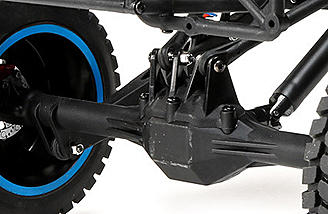 Keeping drivers in control during tight turning, the open differential distributes power to the tires in a way that allows you to hit turns confidently.