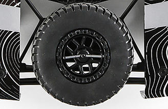 Designed for truck and SUV fans, these rugged monsters can take on any terrain. They are flawlessly replicated on the Ford Raptor Baja Rey and are sure to bring a smile to any 1:1 enthusiast.