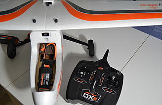 Your DXe is already bound to your AeroScout and setup - so simple!
