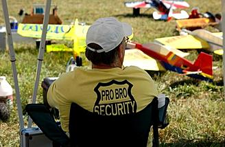 ProBro Security always keeps a wary eye out.