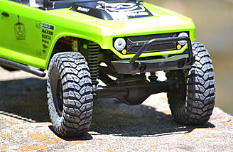 Poison Spyder Rock Brawler Bumper - The bumpers are very scale and take hard abuse.  They even have D-rings and hard points for LED lights.